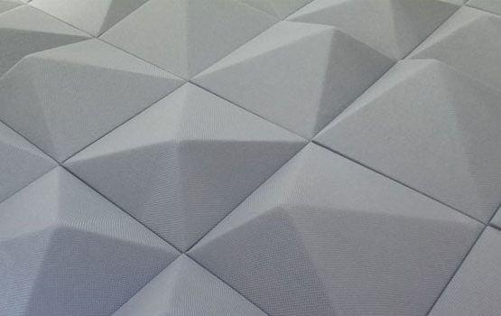 3D Akustik Kumaş Panel